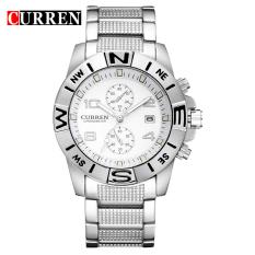 [100% Genuine] CURREN 8038 Watches Men Luxury Brand Business Watches Casual Watch Quartz Watches - Intl