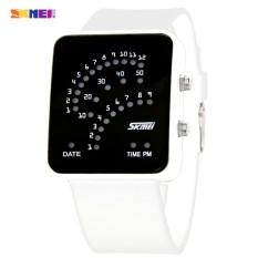 [100% Genuine] SKMEI 0890 Watch Famous Brand LED Digital Waterproof Shock Resistant Auto Date Sport Women Men Wristwatches - Intl