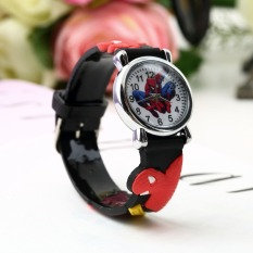 1pc 2015 New 1pcs Cute Cartoon 3D Sports Watch Watches Fashion Red Child Wrist Watch Children Watch Gift Wholesale - Intl