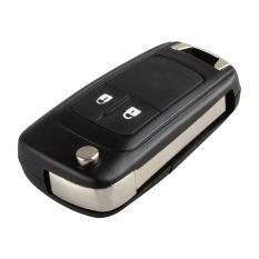 2 Button Folding Flip Key Shell Case Remote Key Cover