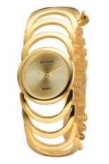 2015 Hot Fashion Watch Women Bracelet Bangle Wristwatch Wrist Watches Ladies Luxury Casual Watches Relogio Feminino (Intl)