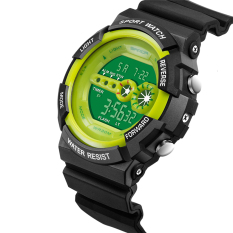 2016 High Quality SANDA 320 Outdoor Sports Waterproof Multifunctional Noctilucent Electronic Watch (Green)