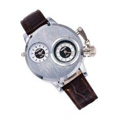 2016 New Arrive Quartz Women Leather Strap Watch Dress Women Watches Rhinestone Wristwatches Ladies Watch (Brown)