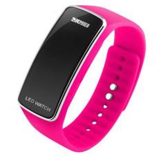 2016 New Fashion Square Dial LED Bracelet Digital Watches For Men&Ladies&Child Clock Womens Wrist Watch Sports Wristwatch Saat (Rose)