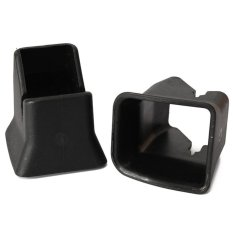 2pcs Universal Car Seat Child Safety ISOFIX Seat Buckle Fixed Guide Car Buckle (Intl)