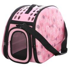 360DSC Fashion Portable Folding EVA Pet Carrier Shoulder Bag Outdoor Traveling Pet Handbag Kennel House for