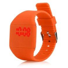 360DSC Unisex Ultra Thin Square LED Touch Screen Digital Sports Wristwatch