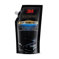 3M Car Wash Soap Pouch Gold Series - Shampo Cuci Mobil - Hitam