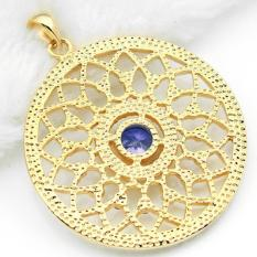 3PS The Muslim Middle East Arab Islamic Muslim Turkey Evil Eye Hollow Out Small Pendant - Intl