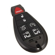 7Button Remote Entry Key Fob Keyless Chip Clicker Transmitter For Chrysler Dodge (Intl)