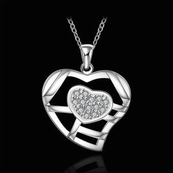 Accessories!!Ornaments Silver Plated Necklace, Silver Plated Fashion Jewelry, Popular Chain Necklace SMTN631 - Intl