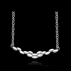 Accessories!!Ornaments Silver Plated Necklace, Silver Plated Fashion Jewelry, Popular Chain Necklace SMTN645 - Intl