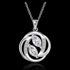 Accessories!!Ornaments Silver Plated Necklace, Silver Plated Fashion Jewelry, Popular Chain Necklace SMTN657 - Intl