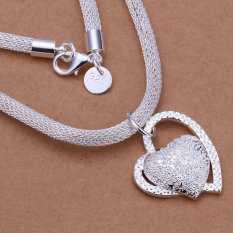 Accessories Silver Plated Fashion Jewelry Necklace Pendants Chains, Silver Plated Necklace KDN270 Fashion Necklace Lqpy Zmvk - Intl
