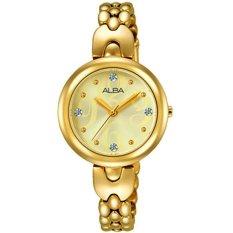 ALBA - Jam Tangan Wanita - Gold - Stainless Steel - AH8332
