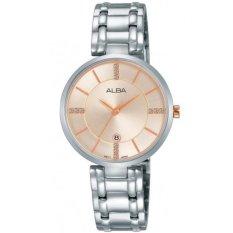 ALBA - Jam Tangan Wanita - Silver - Stainless Steel - AH7K63