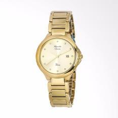 ... Rose Source Alexandre Christie 2657 Ladies Passion Champagne Dial Jam Tangan Wanita