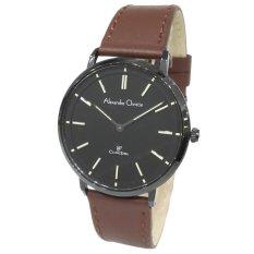 Alexandre Christie 8492MHLIPBA Classic Steel Jam Tangan Pria - Black
