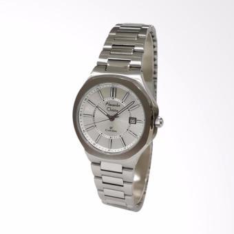 Alexandre Christie 8524LDBSSSL Classic Steel Jam Tangan Wanita - Silver