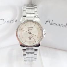 Alexandre Christie AC8298 Jam Tangan Wanita Stainless Steel Silver