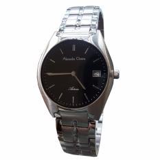 Alexandre Christie AC8521MP - Jam Tangan Wanita - Stainless Steel (Silver Hitam)