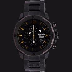 Alexandre Christie ACF-6410-MCBEPBA Man Sport Black Dial Stainless Steel - Jam Tangan Pria