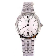 Alexandre Christie Lady Watch Jam Tangan Wanita - Silver - Strap Stainless Steel - 8509