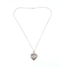 Allwin Fashion Quartz Heart-shaped Pocket Watch Necklace Pendant Men Women Gift