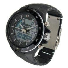 Analogue-Digital 5ATM Date Chronograph Army Mens Women Luxury SKMEI Sports Watch