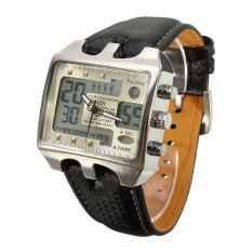 Audew Ohsen Quartz Wrist Watch Alarm Analog Digital Men's Waterproof Sport Classic New - Intl