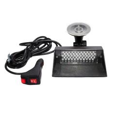 OTOmobil Lampu LED Dashboard 12 Sirene Polisi Variasi Aksesoris Interior Mobil - AI-LL-117-LAMPU-LED-DASBOARD-12 - Biru / Merah