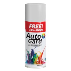AutoGard - 31 Paint - Silver - Premium Automotive Motorcycle Car Aerosol Premium Paint - Cat Semprot Mobil Motor Premium