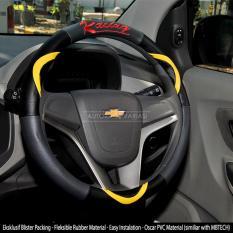 AUTORACE Cover Stir / Sarung Stir Mobil Autorace 200 Racing - Kuning