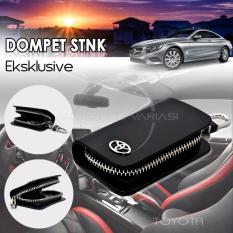 AUTORACE Dompet STNK Exclusive /Dompet kunci mobil/Dompet kulit Toyota - BLACK