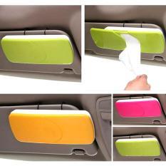 Autorace Tempat Tissu Mobil / Tissue Box Gantung Sunvisor TS-11 - Pink