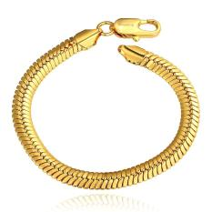 B084 Good Quality Nickle Free Antiallergic 2015 New Fashion Jewelry 18K Gold Plated Bracelets - Intl