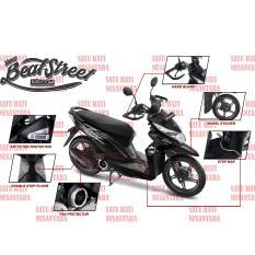 (Beat Street) Honda ORI Paket Aksesoris KOMPLIT Premium - 6 Item
