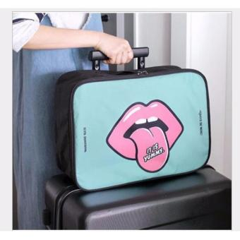 BEST LIP Travel Bag (Ukuran L) Hand Carry Tas Lipat Koper Luggage Organizer Tenteng - TOSCA