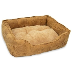 Best Pet Supplies Squared Suede Bed for Pets, - intl