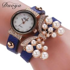 Bigskyie Duoya Hot Selling Luxury Fashion Heart Pendant Women Watches Blue Free Shipping