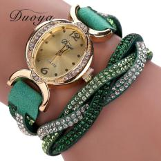 Bigskyie Duoya Hot Selling Luxury Fashion Heart Pendant Women Watches Green Free Shipping