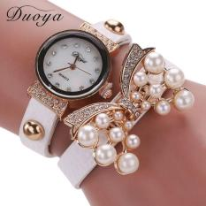 Bigskyie Duoya Hot Selling Luxury Fashion Heart Pendant Women Watches White Free Shipping