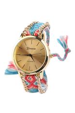 Bluelans® Warnawarni Retro Perhiasan Katun Tali Pengikat