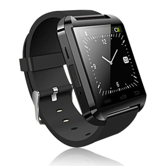 Bluetooth Smart U8 Watch Phone Mate for iPhone IOS Android HTCSamsung - intl
