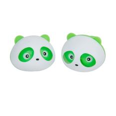 BolehDeals 2 Pcs Panda Car Air Freshener Perfume w/Two Clips -Green - intl