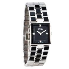 Bonia B845-2337 - Brown Silver - Jam Tangan Wanita