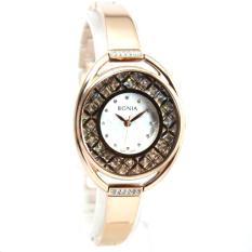 Bonia BN10239-2557 Jam Tangan Wanita Rose Gold Stainless Steel