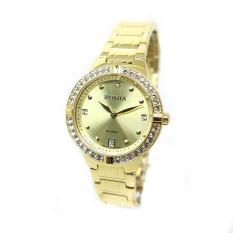 Bonia - Jam Tangan Wanita - Gold-Gold- Stainless Steel - BNB10307-2277S