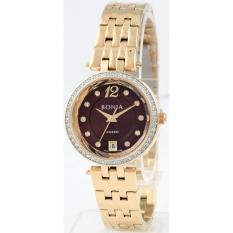 ... Rosegold Stainless Steel. Source · Bonia Rosso BNB10300-2245S - Jam Tangan Wanita - Gold Coklat