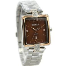 Bonia Rosso Jam Tangan Wanita Stainless Steel